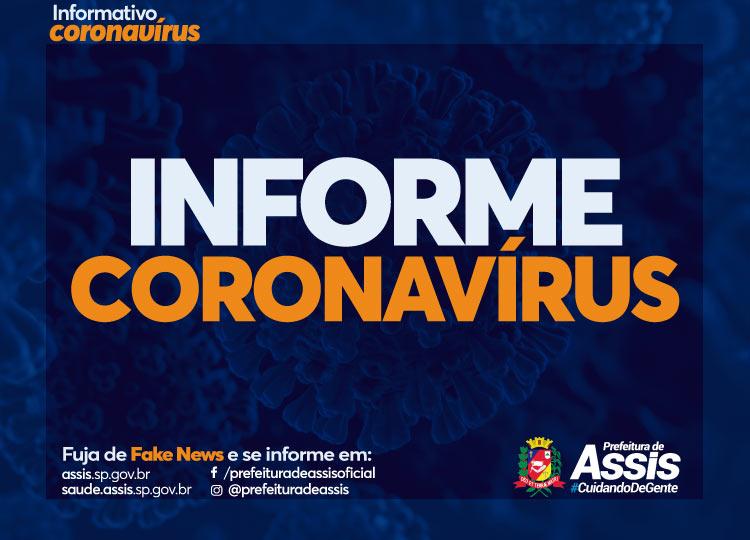 Há 16 dias sem registro de morte, Assis tem mais 11 casos positivos de COVID-19