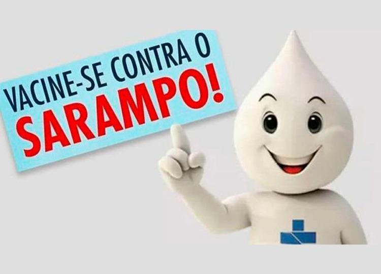 Hoje é Dia D Vacinação contra Sarampo