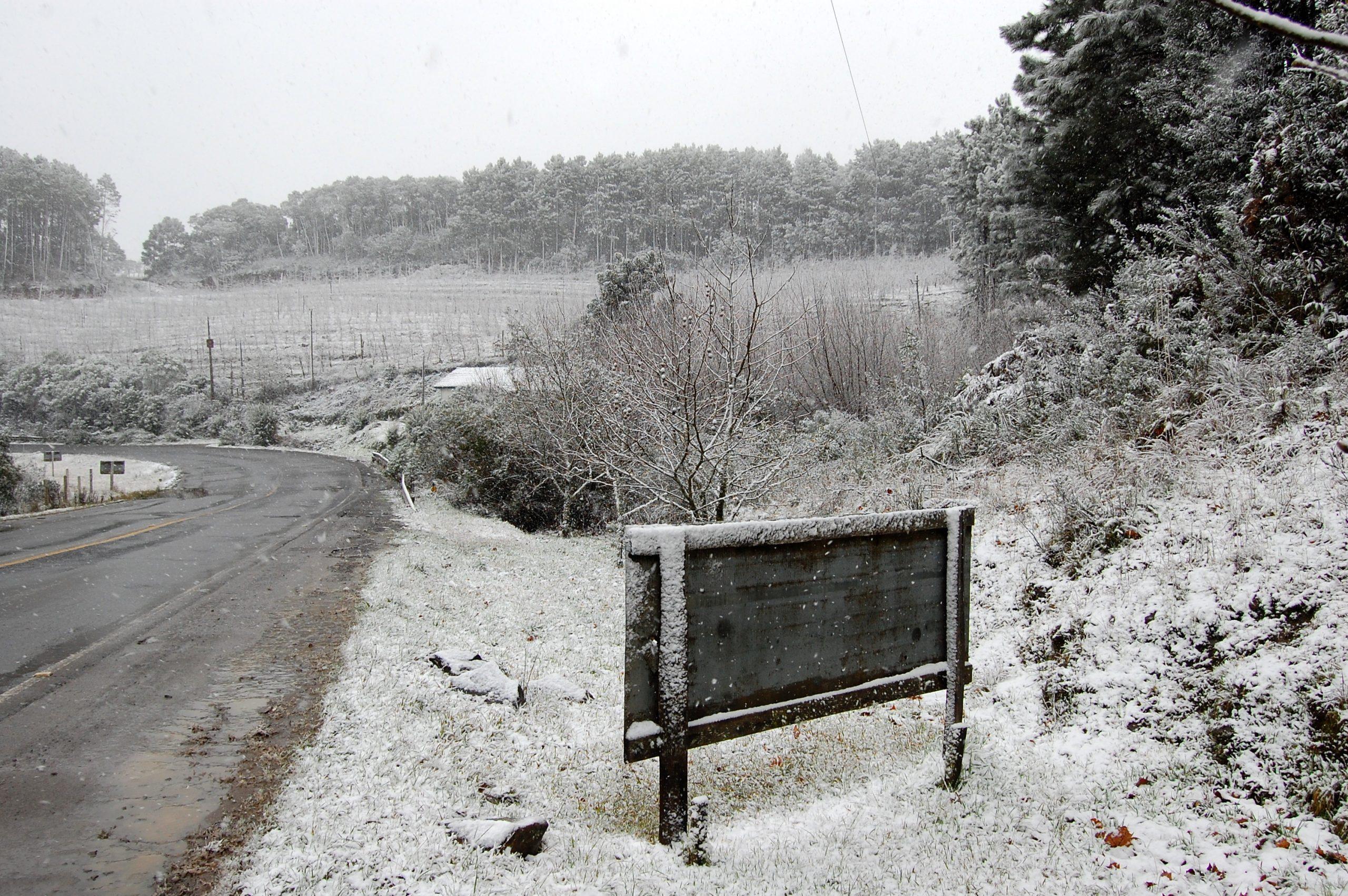 Meteorologia prevê neve generalizada no Sul a partir de 5ª; temperatura vai cair em todo País