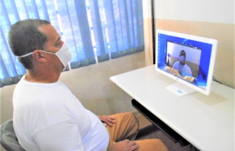 Conexão familiar supera 1 milhão de mensagens trocadas e 50 mil visitas virtuais
