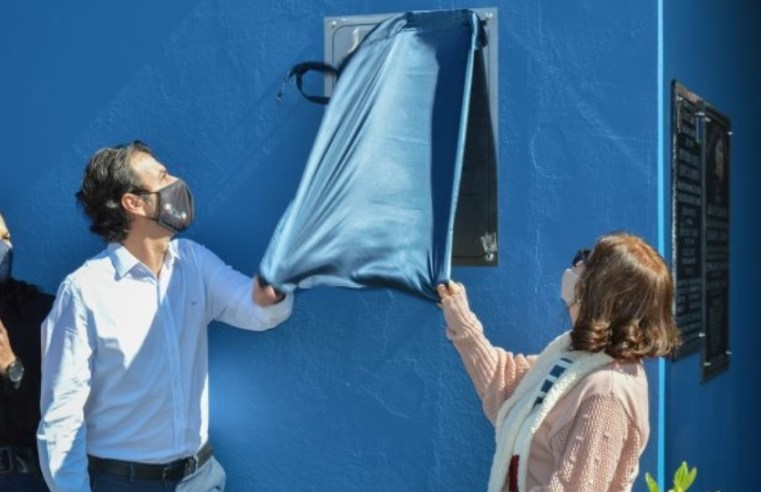 Prefeitura inaugura a nova EMEI 'Francesco Romano'