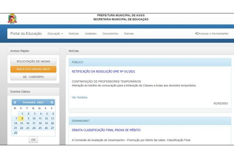 Educação Municipal informa datas de início das atividades educacionais