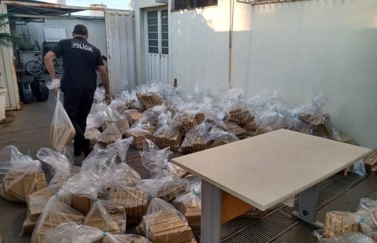 Polícia Civil incinera mais de duas toneladas de maconha e cocaína apreendidas em Florínea