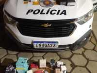 Polícia Rodoviária apreende aproximadamente R$ 100.000,00 em mercadorias sem documentação fiscal