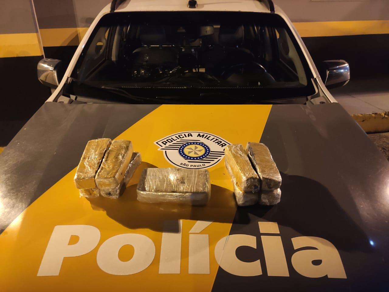Homem é preso por tráfico de drogas na Rodovia Raposo Tavares