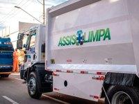 Coleta de lixo urbana e rural seguirá cronograma normal em Assis