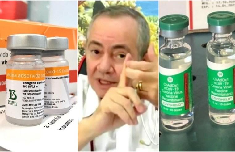 Médico que tomou doses da CoronaVac e Oxford fecha acordo com MP e pagará multa de R$ 15 mil