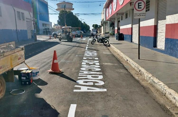 Rua Visconde do Rio Branco recebe mais melhorias e passa ser mão dupla de direção até a Avenida Marechal Deodoro