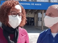 SindSaúde afirma que profissionais do Hospital Regional passam por esgotamento mental e cansaço.