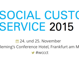 Logo des Social Media Customer Kongress in Frankfurt