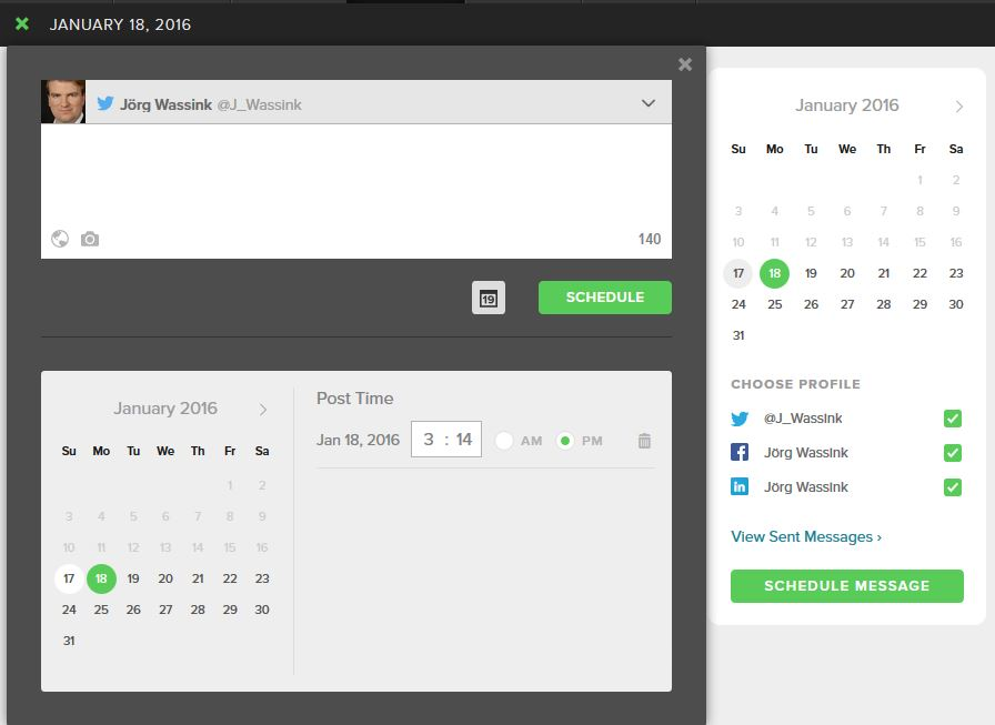SproutSocialScheduling