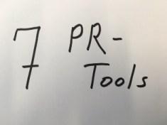 7 Public Relations Tools, die man nicht vernachlässigen sollte