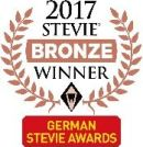 German Stevie Awards 2017 - Bronze Winner Logo