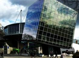Immer noch beeindruckend: die Architektur auf dem CeBIT Gelände