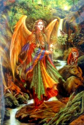 Arcángel Uriel (El Arcángel del suministro)