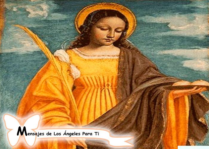 Oración a Santa Águeda ( para sanar el cáncer de mama)