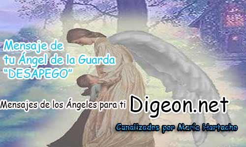 El MENSAJE DE TU ÁNGEL DE LA GUARDA - DESAPEGO