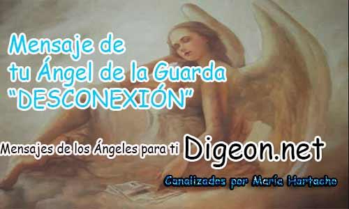 MENSAJE DE TU ÁNGEL DE LA GUARDA - DESCONEXIÓN