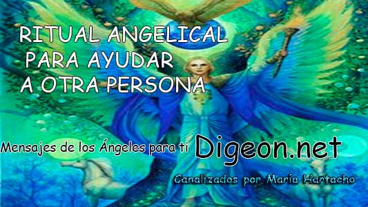 RITUAL ANGELICAL PARA AYUDAR A OTRA PERSONA