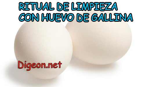 RITUAL DE LIMPIEZA CON HUEVO DE GALLINA