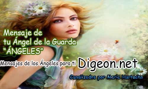 MENSAJE DE TU ÁNGEL DE LA GUARDA - 01-12-2017 - ÁNGELES