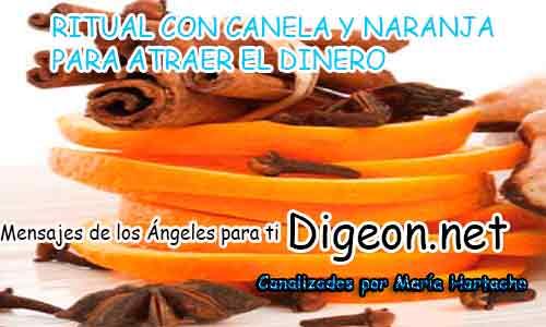 RITUAL CON CANELA Y NARANJA PARA ATRAER EL DINERO