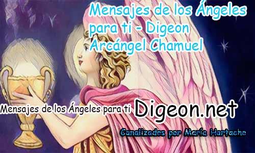 MENSAJES DE LOS ÁNGELES PARA TI - Digeon - Arcángel Chamuel - Día 876 y Decreto Del Arcángel Miguel + Consejo de tu Ángel para hoy 16/04/2018.