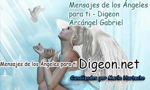 MENSAJES DE LOS ÁNGELES PARA TI - Digeon - Arcángel Gabriel - Día 879y Decreto Del Arcángel Miguel + Consejo de tu Ángel para hoy 19/04/2018.