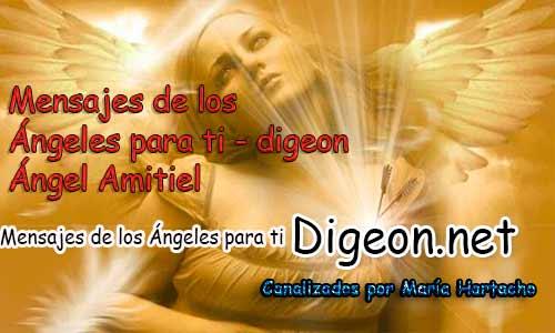 MENSAJES DE LOS ÁNGELES PARA TI - Digeon- Ángel Amitiel - Día 896y Decreto Para la Riqueza + Consejo de tu Ángel para hoy 14/05/2018
