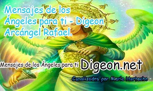 MENSAJES DE LOS ÁNGELES PARA TI - Digeon- Arcángel Rafael - Día 891y Decreto Para la Riqueza + Consejo de tu Ángel para hoy 07/05/2018.