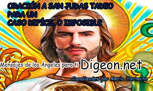 ORACIÓN A SAN JUDAS TADEO PARA UN CASO DIFÍCIL O IMPOSIBLE, oraciones, padre nuestro, santo rosario, oración a san judas tadeo, ave maria