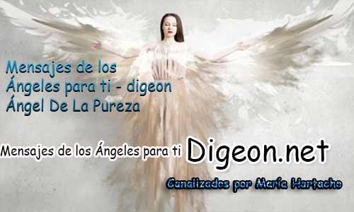 MENSAJES DE LOS ÁNGELES PARA TI - Digeon - Ángel De La Pureza - Día 956 y Decreto De La Espada Azul de San Miguel Arcángel + Consejo de tu Ángel para hoy.