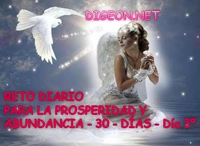 RETO DIARIO PARA LA PROSPERIDAD Y ABUNDANCIA - 30 - DÍAS - Día 3º