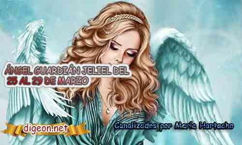 ÁNGEL GUARDIÁN JELIEL.Todo sobre el ángel guardian Jeliel, lo que otorga, el salmo para invocarlo y el mensaje del ángel. Regente Del 25 al 29 de Marzo