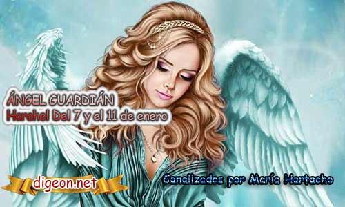 ÁNGEL GUARDIÁN MIERAEL. Todo sobre el ángel guardian Merael, lo que otorga, el salmo para invocarlo y el mensaje del ángel. Regente Del 12 al 16 de Enero.