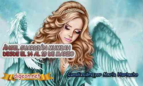 ÁNGEL GUARDIÁN MUMIAH DESDE EL 14 AL 19 DE MARZO