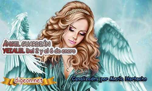 ÁNGEL GUARDIÁN YEIALEL. Todo sobre el ángel guardian Nemamiah, lo que otorga, el salmo para invocarlo y el mensaje del ángel. Regente Del 2 al 6 de Enero.