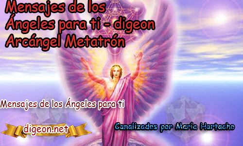 MENSAJES DE LOS ÁNGELES PARA TI - Digeon - 05/12/2018Arcángel Metatrón - Día 1.042 + Consejo De Tu Ángely código de activación de la Abundancia universalPara Hoy 05/12/2018