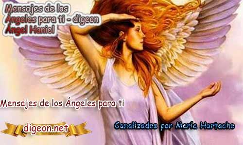 MENSAJES DE LOS ÁNGELES PARA TI - Digeon - 14 de Abril - Ángel Haniel - Día 1153 + Consejo de tu Ángel y Decreto para la Riqueza y Abundancia