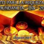 RETO PARA LA RIQUEZA Y ABUNDANCIA - Día 20º
