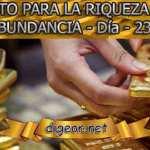 RETO PARA LA RIQUEZA Y ABUNDANCIA - Día 23º - Digeon.net