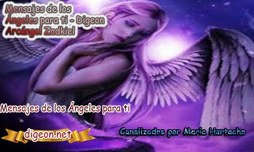 MENSAJES DE LOS ÁNGELES PARA TI - Digeon - 27 de Junio - Arcángel Zadkiel - Día 1217 + Consejo de tu Ángel y Decreto para La Riqueza y Prosperidad