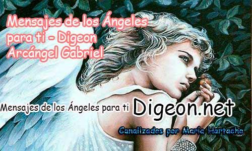 MENSAJES DE LOS ÁNGELES PARA TI - Digeon - 01 de Julio - Arcángel Gabriel - Día 1220 + Consejo de tu Ángel y Decreto para La Riqueza y Prosperidad