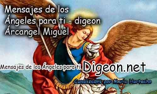 MENSAJES DE LOS ÁNGELES PARA TI - Digeon - 24 de Julio - Arcángel Miguel - Día 1240 + Consejo de tu Ángel y Decreto para La Protección de Energías Negativas