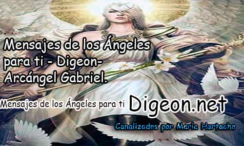 MENSAJES DE LOS ÁNGELES PARA TI - Digeon - 25 de Julio - Arcángel Gabriel - Día 1241 + Consejo de tu Ángel y Decreto para La Prosperidad