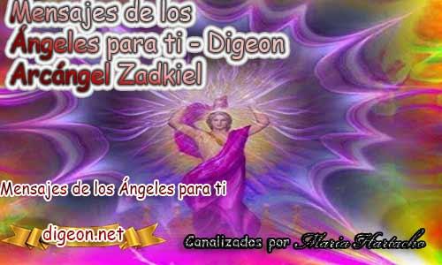 MENSAJES DE LOS ÁNGELES PARA TI - Digeon - 23 de Septiembre - Arcángel Zadkiel- Día 1272 + Consejo de tu Ángel y Decreto para La Transmutación