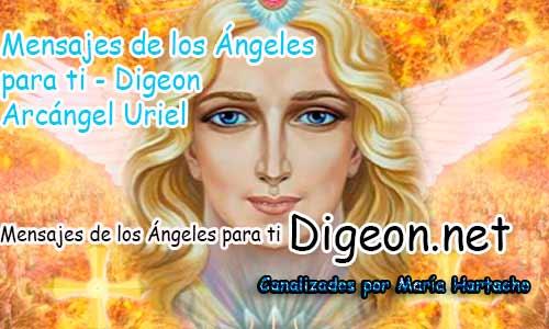 MENSAJES DE LOS ÁNGELES PARA TI - Digeon - 08 de Octubre - Arcángel Uriel - Día 1285 + Consejo de tu Ángel y Decreto para la Provisión Infinita