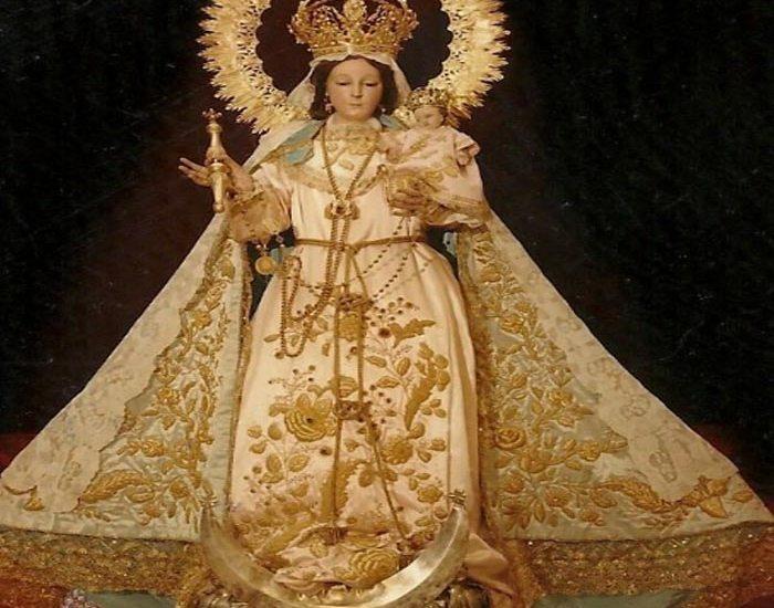 Oración a LA SANTÍSIMA VIRGEN DEL RAYO. Es la Abogada de los parados. Se venera en el templo del Inmaculado Corazón de María - León, Guanajuato.