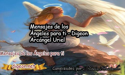 MENSAJES DE LOS ÁNGELES PARA TI - Digeon - 26 de febrero - Arcángel Uriel - Día 1415 + Consejo De Tu Ángel, Decreto Para Encontrar Un Empleo y El Ángel Que Te Acompaña Hoy