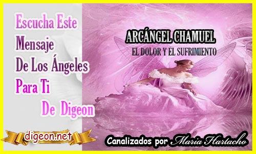 """MENSAJES DE LOS ÁNGELES PARA TI - Digeon - ARCÁNGEL CHAMUEL"""" EVITAR EL SUFRIMIENTO Y ACEPTAR EL DOLOR"""" 20/07/2021"""